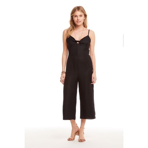 Chaser Beach Front Tie Jumpsuit